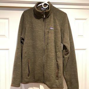 Patagonia better sweater full zip medium